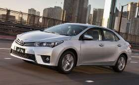 Rent a car today  - Toyota Corolla