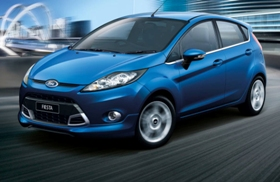 Rent a car today  - Ford Fiesta