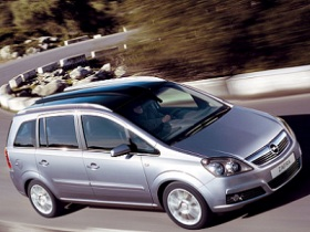 Rent a car today  - Opel Zafira